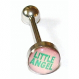 Little Angel Logo Tongue Bar
