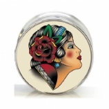 Gypsy Lady Surgical Steel Plug 6mm - 25mm