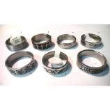 Gothic Style Steel Ring