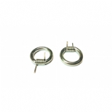 Heavy Gauge Barbed Wire Ball Closure Ring
