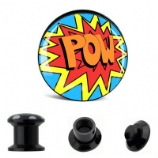 Pow! Cartoon Plug 6mm - 30mm