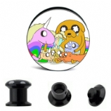 Jake & Lady Rainicorn Family Adventure Time Plug 6mm - 30mm