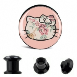 Hello Kitty Antique Roses Plug 6mm - 30mm