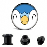 Piplup Pokemon Plug 6mm - 30mm