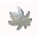 Hash Leaf Shaped Screw On Attachment For 1.6mm Dermal Anchor