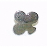 Clubs Card Suit Shaped Screw On Attachment For 1.6mm Dermal Anchor