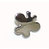 Butterfly Shaped Screw On Attachment For 1.6mm Dermal Anchor