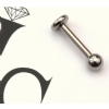IN STOCK - Industrial Strength Titanium Labret Stud 1.2mm