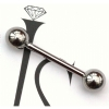 IN STOCK - Industrial Strength Titanium Barbell 1.6mm