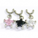 Star Dangle Dangle For 1.6mm Dermal Anchor - Requires Concave Side Screw Top