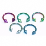 Spike Coloured Horseshoe - 1.2mm
