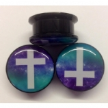 Galaxy Cross Plug 6mm - 25mm