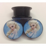 Elsa Frozen Plug 6mm - 25mm