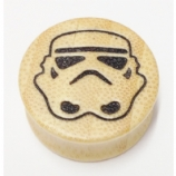 Star Wars Stormtrooper Helmet Wood Flesh Plug 12mm - 28mm