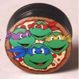 Teenage Mutant Ninja Turtles Plug 6mm - 25mm