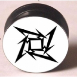 Metallica Star Plug 6mm - 25mm