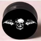 Avenged Sevenfold Plug 6mm - 25mm