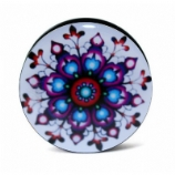 Colourful Mandala Plug 6mm - 25mm