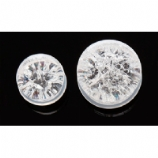 Cracked Glass Look Double Flared Acrylic Plug 4mm-25mm