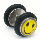 Smiley Face Picture Fake Plug
