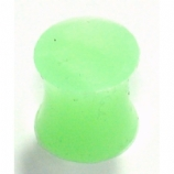 Green Silicone Flexi Solid Plug
