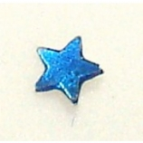 Coloured Star Sterling Silver Nose Stud