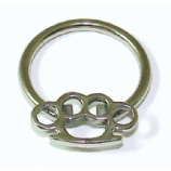 Knuckleduster Brass Knuckles BCR Ball Closure Ring