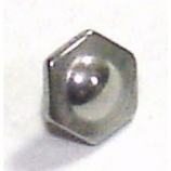 Bolt Top Disk Screw On Attachment For 1.6mm Dermal Anchor