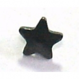 Black Star Screw On Attachment For 1.6mm Dermal Anchor
