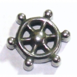 Ship's Wheel Spare Screw-On Attachment For 1.6mm Body Bars