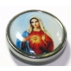 Immaculate Mary Ikon Disc For Bioplast Flesh Plug System