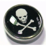 Skull & Crossbones Ikon Disc For Bioplast Flesh Plug System