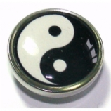 Yin Yang Ikon Disc For Bioplast Flesh Plug System