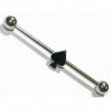 Black Spade Scaffold Barbell