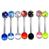 Crystal Discoball UV Tongue Bar