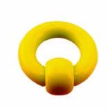 Acrylic Heavy Gauge Thick Ball Closure Ring