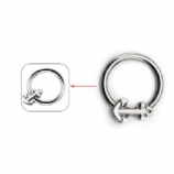 Anchor Clip in Ball Closure Ring