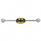 Batman Logo Official Licensed Scaffold Barbell