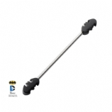 Batman Double Bat Official Licensed Scaffold Barbell