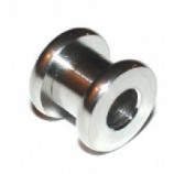 Titanium Screw On Flesh Tunnel 3mm - 12mm