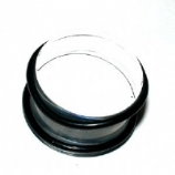 Large Gauge Clear Acrylic Plug 12mm - 30mm