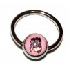 Eeyore Logo Ball Closure Nipple Ring