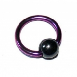Titanium Ball Closure Ring - 1.6mm
