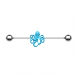 Cute Octopus Scaffold Industrial Barbell