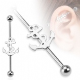 Anchor Silhouette Scaffold Barbell