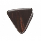 Black Areng Wood Triangle Plug