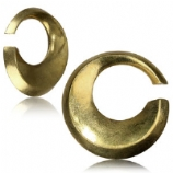 Round Brass Ear Weight - 4mm