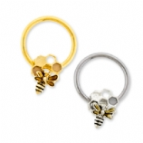 Bee and Honeycomb BCR Ball Closure Ring