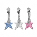 Electric Star Guitar Reverse Dangle Belly Bar