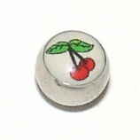 Cherry Logo Ball For 1.6mm Body Bars